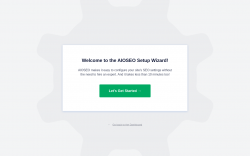 Page screenshot: AIOSEO › Onboarding Wizard