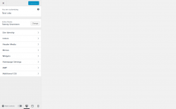 Page screenshot: Appearance → AMP