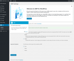 Page screenshot: AMP