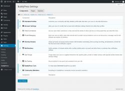 Page screenshot: Settings → BuddyPress