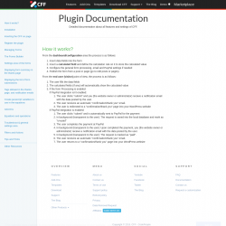 Page screenshot: Calculated Fields Form → Documentation