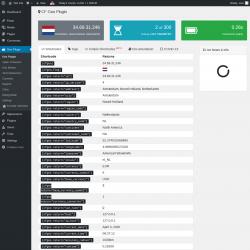 Page screenshot: Geo Plugin