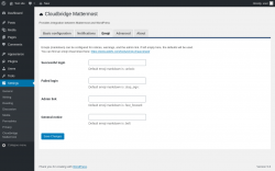Page screenshot: Settings → Cloudbridge Mattermost → Emoji