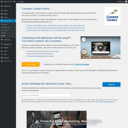 Page screenshot: Contact Form → About