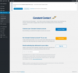 Page screenshot: Contact Form → Connect Now