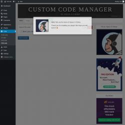 Page screenshot: Code → CSS code