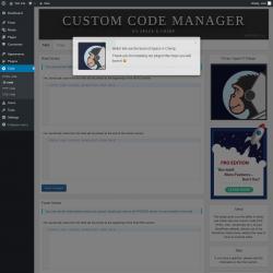 Page screenshot: Code → JS code