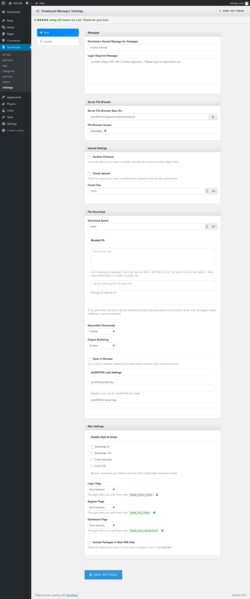 Report - WordPress Download Manager 2 9 65 - PluginTests com
