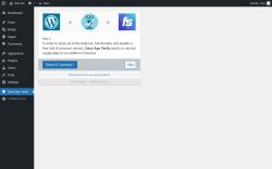 Page screenshot: Easy Age Verify ‹ Test site — WordPress