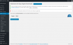 Page screenshot: Downloads → Extensions