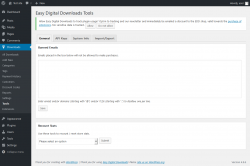 Page screenshot: Downloads → Tools