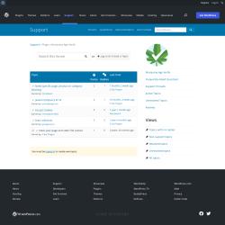 Page screenshot: Marijuana Age Verify → Support Forum