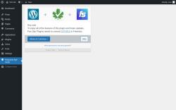Page screenshot: Marijuana Age Verify ‹ Test site — WordPress
