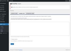 Page screenshot: EasyMap → Import → Locations, CSV