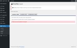 Page screenshot: EasyMap → Export