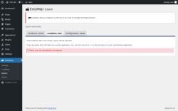 Page screenshot: EasyMap → Export → Locations, CSV