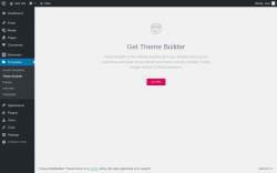 Page screenshot: Templates → Theme Builder