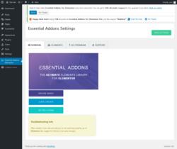 Report - Essential Addons for Elementor 2 4 0 - PluginTests com