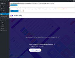 Page screenshot: Essential Addons → Templates Cloud