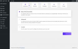 Page screenshot: Quick Setup Wizard- Essential Addons