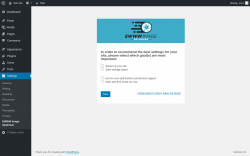 Page screenshot: Settings → EWWW Image Optimizer