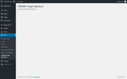 Page screenshot: Tools → EWWW Image Optimizer
