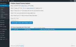 Page screenshot: Follow Hook → Forms