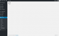 Page screenshot: Settings  → Font Awesome