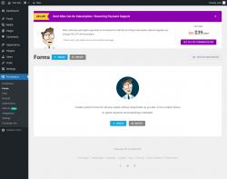 Page screenshot: Forminator → Forms