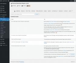 Page screenshot: Freesoul Deactivate Plugins → Help