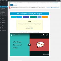 Page screenshot: Help ‹ Test site — WordPress
