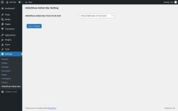 Page screenshot: Settings → Hide/Show Admin Bar