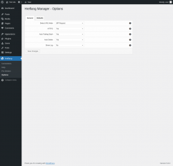 Page screenshot: Hreflang → Options