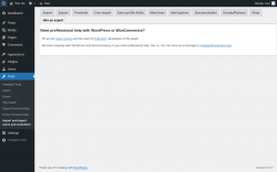 Page screenshot: Tools → Import and export users and customers → Hire an expert