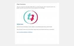 Page screenshot: Social Slider Widgets → Components