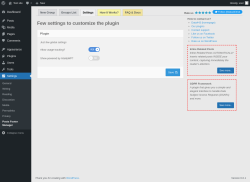 Page screenshot: Settings → Posts Footer Manager → Settings
