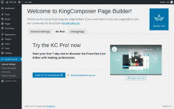 Page screenshot: KingComposer →  			KC Pro!