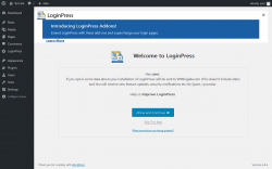 Page screenshot: Appearance → LoginPress