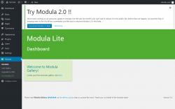 Page screenshot: Modula