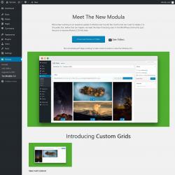 Page screenshot: Modula → Try Modula 2.0
