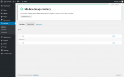 Page screenshot: Modula