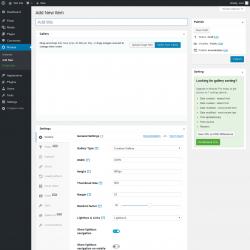 Page screenshot: Modula → Add New