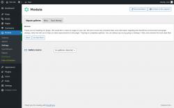 Page screenshot: Modula → Settings