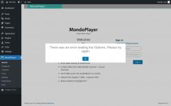 Page screenshot: MondoPlayer  → Settings