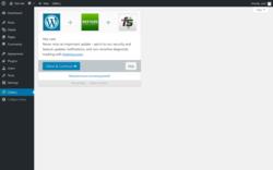 Overview ‹ Test site — WordPress