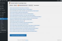 Page screenshot: Plugins  → System info → Documentation