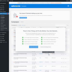 Page screenshot: OptinMonster  → Campaigns
