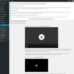 Page screenshot: PowerPress → Video Player