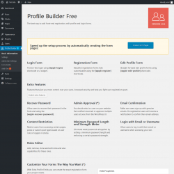 Page screenshot: Profile Builder1