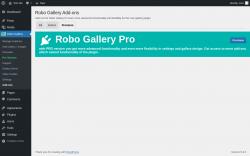 Page screenshot: Robo Gallery → Add-ons → Premium